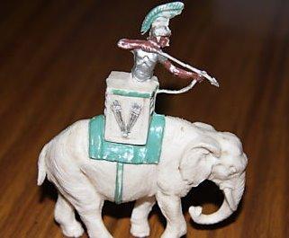 Video de un elefante y un mal jinete